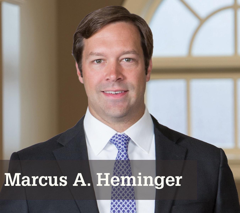 Marcus A. Heminger